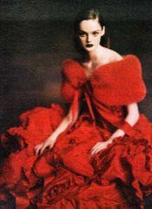 Grand soir Valentino rouge