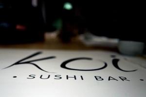 Koi sushi bar 2