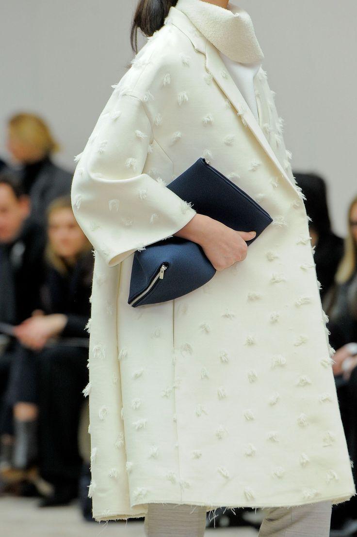 Manteau blanc Celine