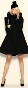 Manteau noir Armani