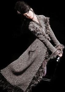 Manteau Pied de Poule Chanel