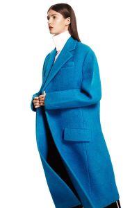 Manteau turquoise Celine
