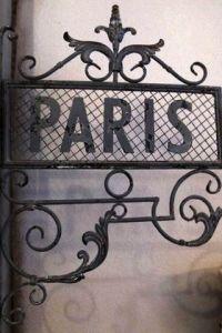 Paris fer forgé