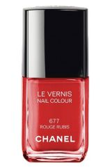 Chanel vernis rouge rubis