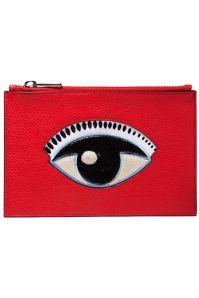 Kenzo pochette rouge oeil