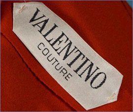 Valentino étiquette