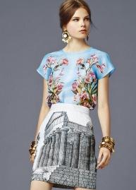 Dolce & Gabbana- Spring 2014
