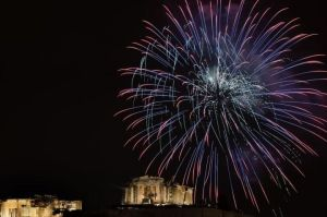 Feu d'artifice Acropole grece-aris-messinis-1