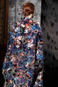 Césars- Valentino manteau papillon