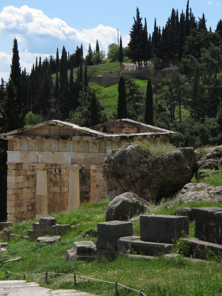 Delphes- Temple d'Apollon