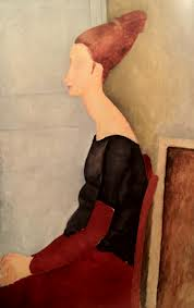 Modigliani Femme au henné