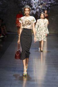 Imprimés Doce Gabbana pois SS14