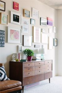 Cait Weingartner's Chicago Studio Tour :: gallery wall :: photography by Stoffer Photography