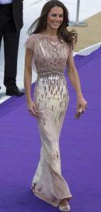 Kate Middleton Jenny Packham robe