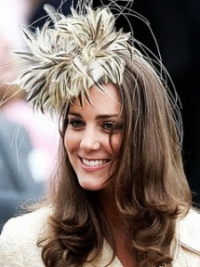Kate Middleton plume