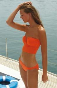 Maillot orange nordstrom