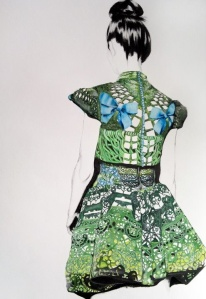 Mary Katrantzou dress verte