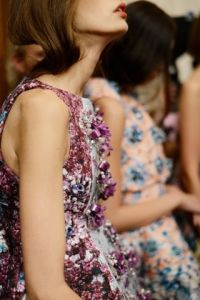 Mary Katrantzou spring 14 backstage