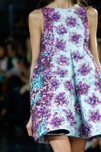 Mary Katrantzou spring 14 detail