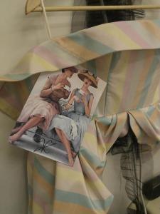 Vassilis robe rayée