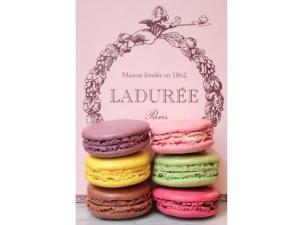 Affiche Macaron Ladurée