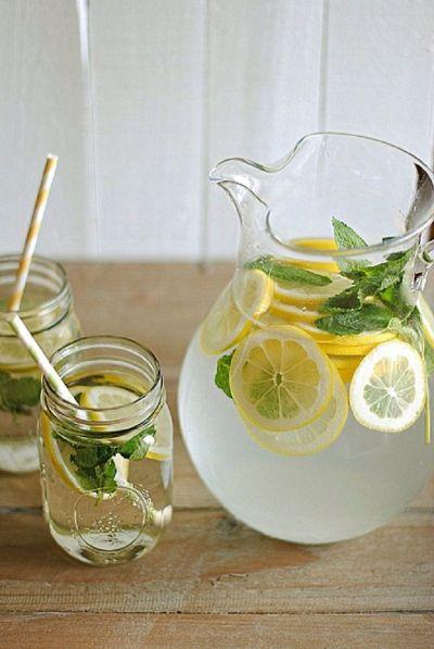 Detox water Citron