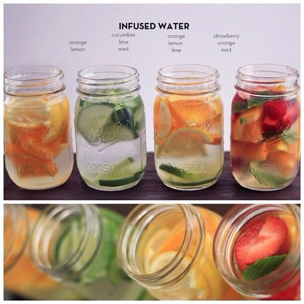 Detox water ensemble