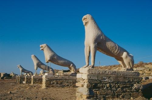 Mykonos Delos Lion