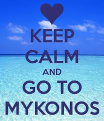 Mykonos Keep calm