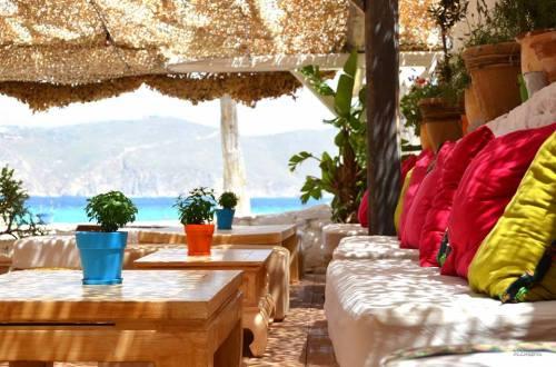Mykonos Panormos beach bar 2