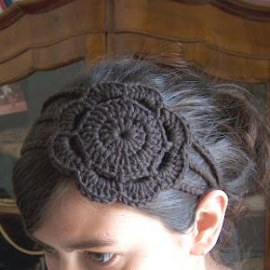 Coiffure head band crochet