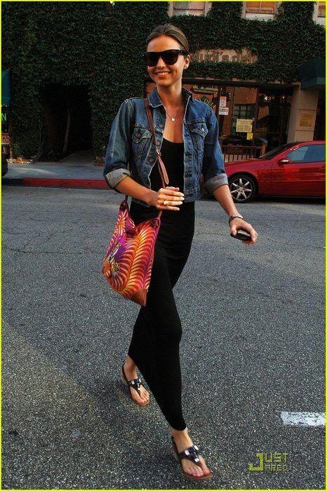 Maxi dress noir + jean
