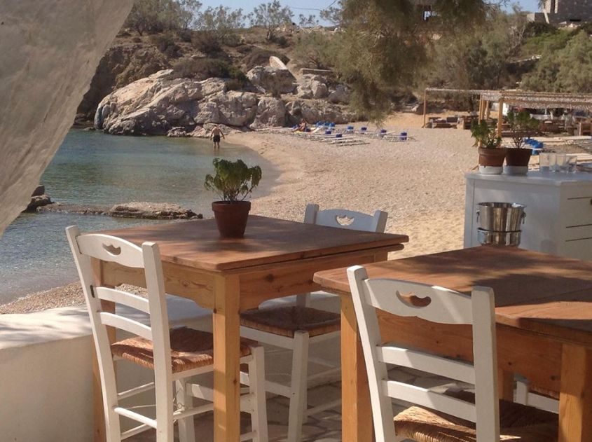 Antiparos beach house restau