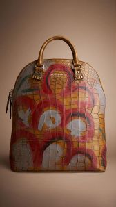 Sac Burberry Prosum orange Fall 14