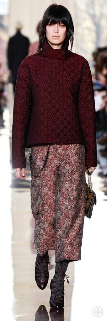 Bordeaux Tory Burch Fall 14
