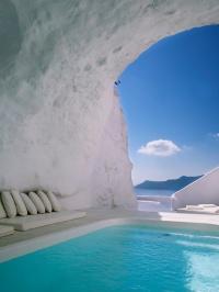 Katikies hotel Santorin - Vanity Fair