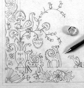 Grecian chic dessin