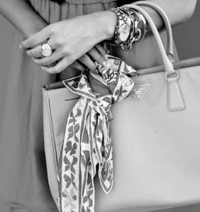 Grecian chic sac