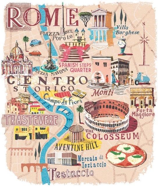 Se Balader A Rome Un Art De Vivre Carnet Dame Catherine