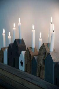 Noel bougies maison