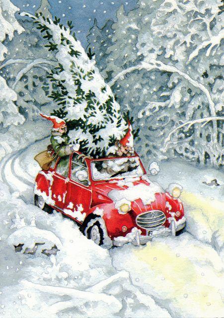 Noel lutin vintage