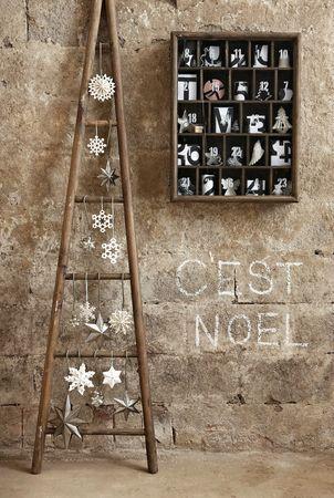 Noel sapin échelle 2
