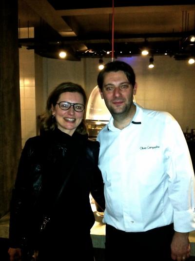 Avec le Chef Olivier Campanha - F+W- Athènes