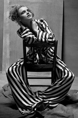 Pyjama Natalia Vodanova Vogue