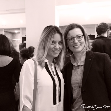 Avec Dimitra Koloutora de Zeus&Dione- Photo@carnetdedamecatherine