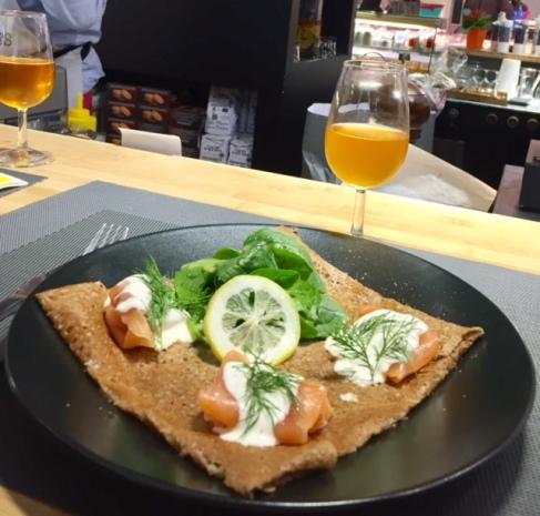 Crêpe saumon- Photo@CarnetdeDameCatherine