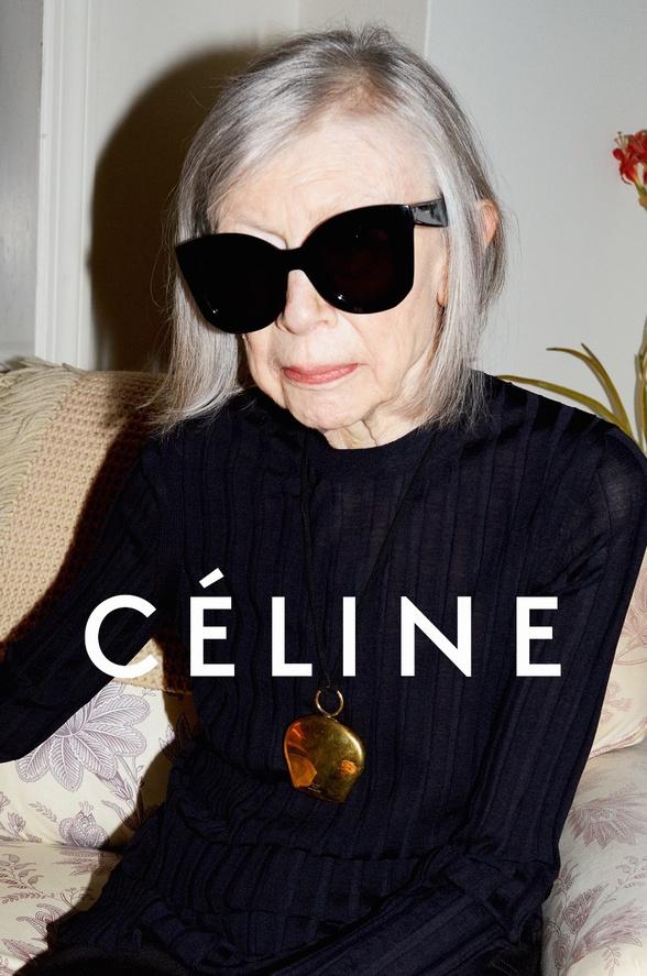 Sénior - Campagne Mode Céline PE2015
